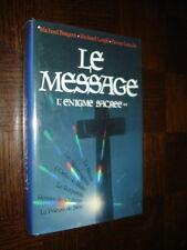 LE MESSAGE - L'Enigme Sacrée ** - 1988 - Rennes-le-Château - d