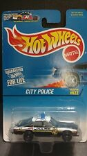 Hot Wheels City Police Cop Car Sheriff Highway Patrol Law Enforcement # 622 1/64