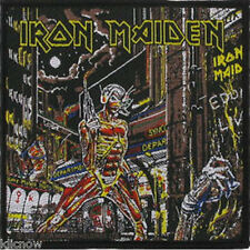 "Iron Maiden- Somewhere in Time - Patch 10cm X 9.5cm (4"" X 3-3/4"")"