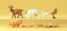 Preiser 14162 Spur H0 Figuren, Ziegen und Schweine #NEU in OVP##
