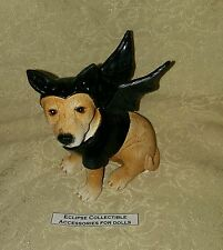 Gothic Halloween Dog In Bat Costume 4 Your 18.25 in Fashion Dolls