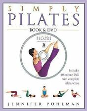 Simply Pilates Exercise Fitness Book & DVD by Jennifer Pohlman (2005)