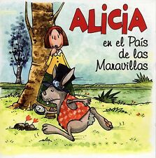 ALICIA EN EL PAIS DE LAS MARAVILLAS CD CON 4 CUENTOS. BARON MÜNCHHAUSTEN DIVUCSA
