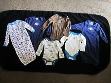 "Babies""R""Us baby clothes 3 Months Gerber gently used some never worn sleepers"