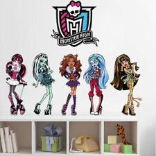 Wandtattoo Monster High Wandsticker Wandaufkleber Kinderzimmer  Deko Kinder cool
