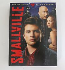 Smallville complete Season Six DVD 6 disk box set TV 6th Superman series sixth