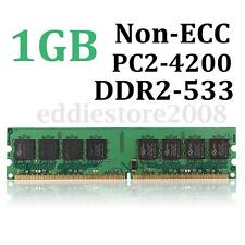 1GB DDR2-533 PC2-4200 Non-ECC Computer Desktop PC DIMM Memory RAM 240 pins