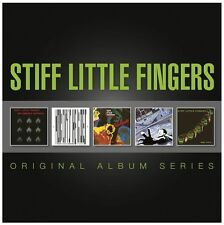 Stiff Little Fingers ORIGINAL ALBUM SERIES Inflammable Material NEW SEALED 5 CD