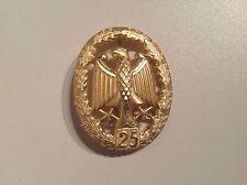BW Leistungsabzeichen Gold Wdh 25 Leistungen Truppendienst Bundeswehr Sport NEU