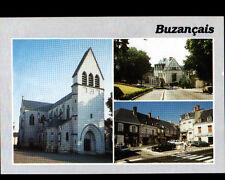 BUZANCAIS (36) CITROEN GS aux COMMERCES , MAIRIE & EGLISE