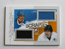 2013-14 ITG In The Game-Used #CS-08   Dale Hunter   &  Terry O'Reilly