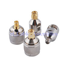 SMA-N RF Adapter Kit SMA to N 4 type Hot for 3G Wireless Antenna