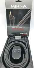 Audioquest Mini-A 3.5mm male to 3.5mm female Audio Interconnect Cable 3 meter