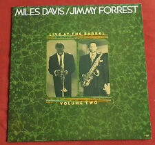MILES DAVIS / JIMMY FORREST  LP ORIG FR LIVE AT THE BARREL  VOLUME 2