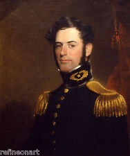 Handmade Oil Painting repro Young Robert E Lee
