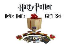 HARRY POTTER BERTIE BOTT'S GIFT SET. GIANT SLUG,SPIDER, SNAKE CANDY. MOVIE CARDS