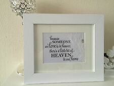 Guardian Angel Wings & Feather Picture (Unframed) memorial friend friendship