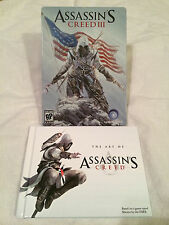 Assassin's Creed III Steel Case (only) & The Art of Assasin's Creed Promo Items