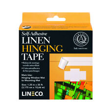 Linen Self Adhesive Hinging Tape 1.25In X35Ft