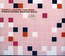 World Leader Pretend - Rubble Rousing Misspent Bouts [New CD] Extended Play, Man