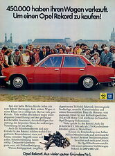 Opel-Rekord-73-Reklame-Werbung-genuineAdvertising - nl-Versandhandel