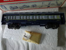 O SCALE LIONEL ILLUMINATED B&O PASSENGER CAR BALTIMORE&OHIO EMERALD BROCK 9525
