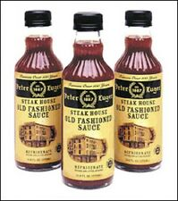 PETER LUGER STEAK SAUCE FROM THE  WORLD FAMOUS STEAKHOUSE IN BROOKLYN NY 2 PACK
