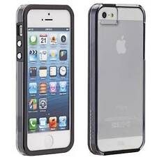 CASE MATE NAKED TOUGH CASE COVER FOR APPLE IPHONE 5 5S CLEAR WITH BLACK BUMPER