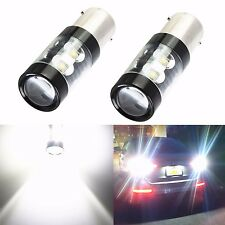 JDM ASTAR 50W CREE 1156 BA15S Super Bright LED White Backup Reverse Lights Bulbs