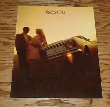 Original 1970 Ford Falcon & Futura Sales Brochure 70