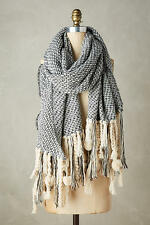 NWT Anthropologie Inverno Fringe Scarf Warm Cozy