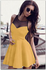 2017 Sexy Womens Lady Sleeveless Party Club Cocktail Dress Nightclubs Clothing