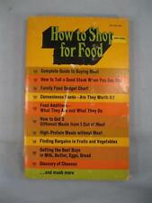 How To Shop For Food By Jean Rainey Barnes Noble Vintage Cookbook Book 1972 (O2)
