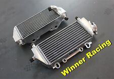 Braced aluminum radiator for Kawasaki KX125/KX250 1994 - 1998 95 96 97 98 L + R