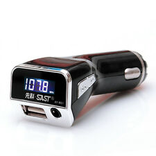 Car 3in1 Design LCD Handfree Wireless Bluetooth MP3 Player FM USB Transmitter