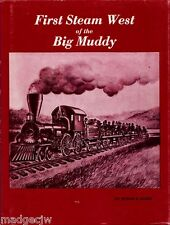 First Steam West of the Big Muddy St Joseph & Grand Island Railroad Guise HCDJ