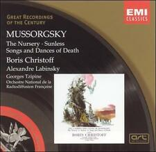 Mussorgsky: The Nursery: Sunless; Songs and Dances of Death Great Recordings of