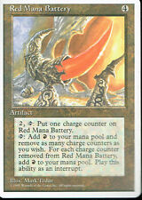 MAGIC THE GATHERING 4TH EDITION ARTIFACT RED MANA BATTERY