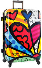 """Britto by Heys A New Day 30"""" Upright Expandable Spinner 4 Wheeled Luggage"""