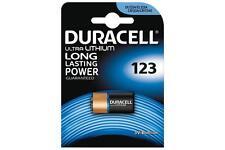 Duracell 656.990UK haute qualité CR123 ultra lithium longue durée puissance batterie