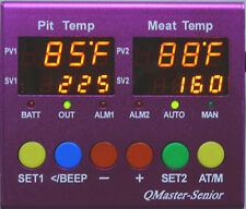 BBQ Wood Smoker Automatic Temperature Controller ATC,just like Guru DigiQ DX2 II
