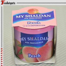 My Shaldan Air Freshener Frangrance Fruit Scent PEACH 80g Last Up to 8 Weeks