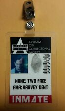 Batman ID Badge-Arkham Institute Inmate Two Face Harvey Dent cosplay costume