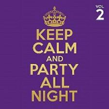 4 CD KEEP CALM AND PARTY ALL NIGHT - Volume 2 (nieuw in verpakking)