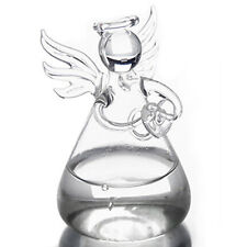 Transparent Angel Crystal Glass Vase Flower Containers Home Decoration DT