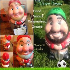 Love Bees Football Fan Gnome Lookalike Full Kit  *Made To Order  - Hand Painted