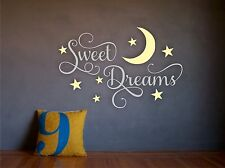 Sweet Dreams Baby Boy/Girl Nursery Wall Art Decal Vinyl Sticker