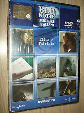 DVD N° 28 BLU NOTTE MISTERI ITALIANI CARLO LUCARELLI ELISA E PATRIZIO