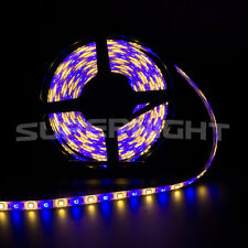5M 5050 RGBWW RGB+Warm White 300leds Black Reel LED Strip Light Lamp Waterproof