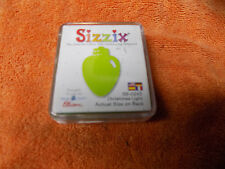 "Sizzix Originals Small Green Die "" Christmas Light ""  38-0243  Used W/ Case"